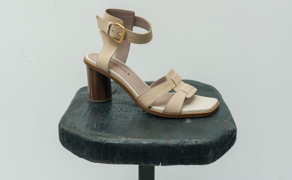 Dorotea sandalia de tacón alto Lianne nude ss18