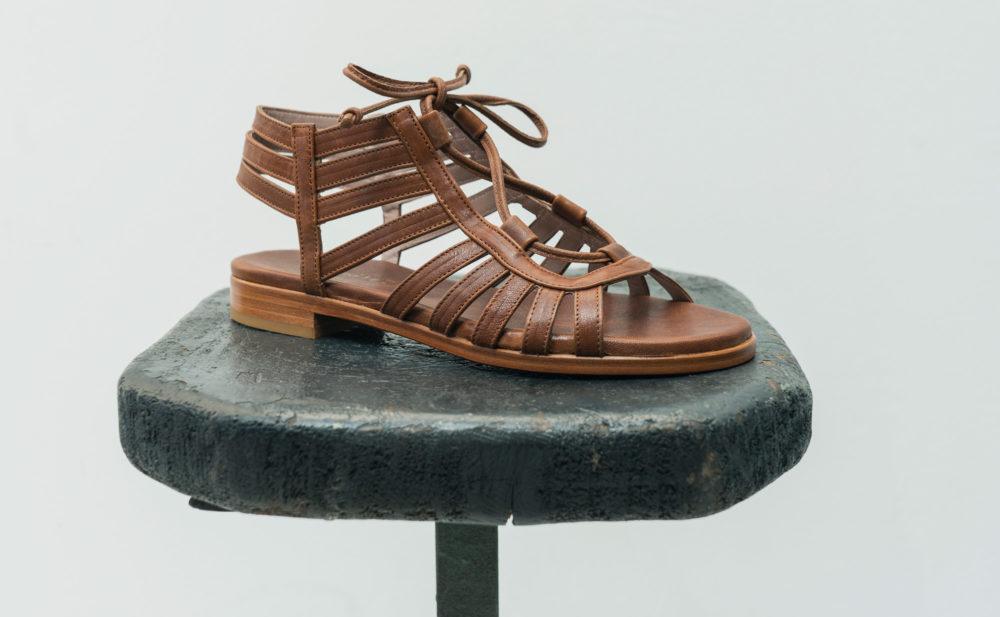 Dorotea sandalia plana Margot cueross17