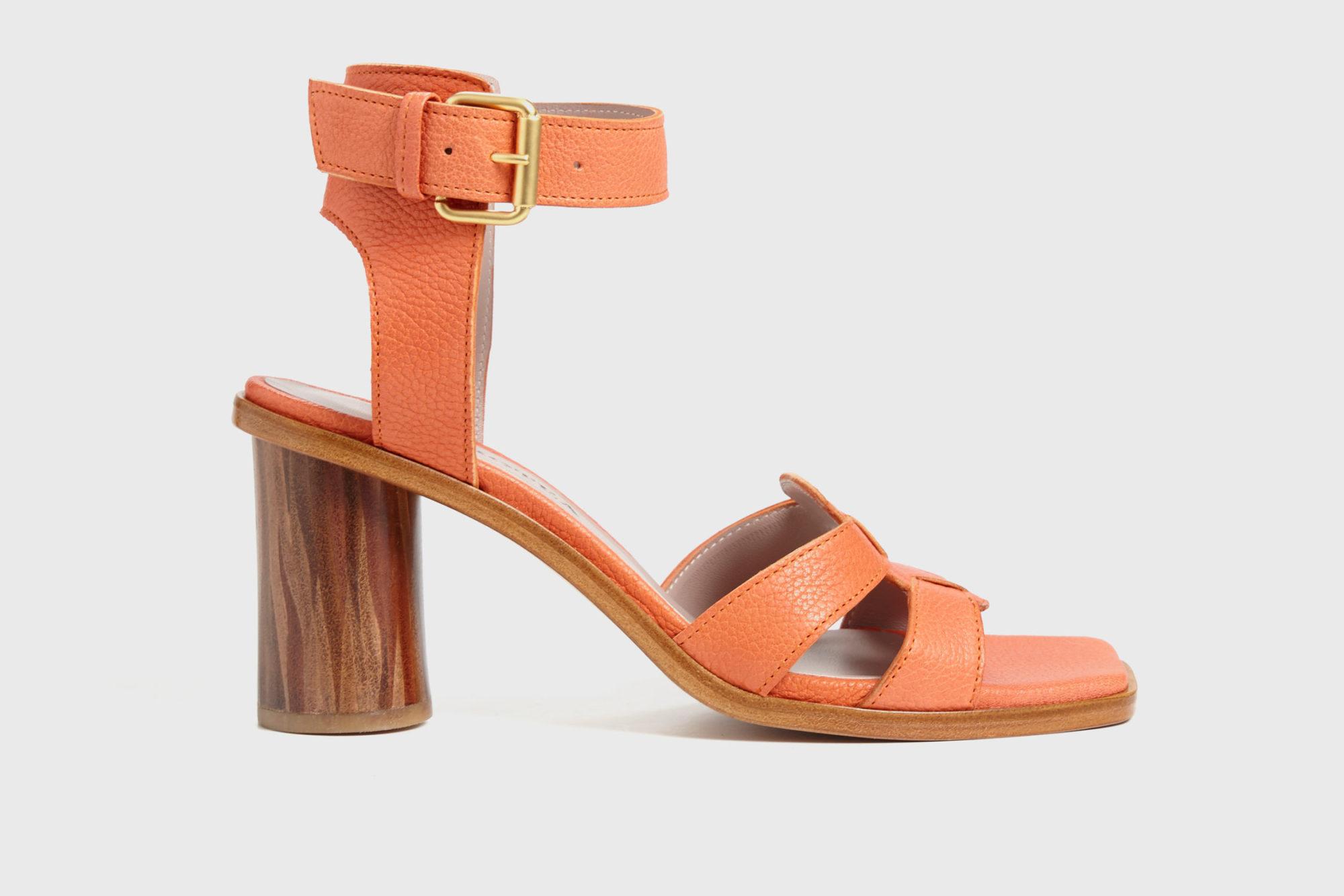 Dorotea sandalia de tacón alto citrus ss18 perfil