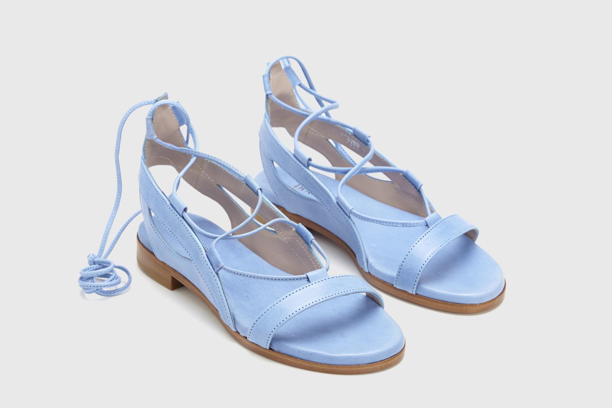 Dorotea sandalia plana Alia azul ss17 par