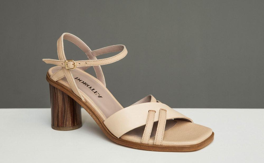 Dorotea sandalia de tacón alto Sophie nude ss17