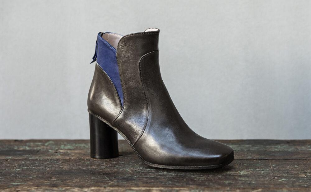 Dorotea botín de tacón alto Tabitha gris ss17