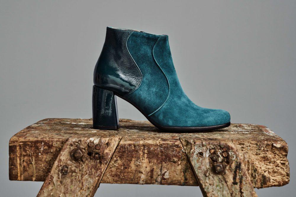 Dorotea botín de tacón alto Ruby azul lago fw18