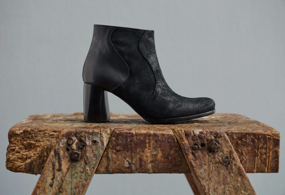 Dorotea botín de tacón alto Ruby negro fw18