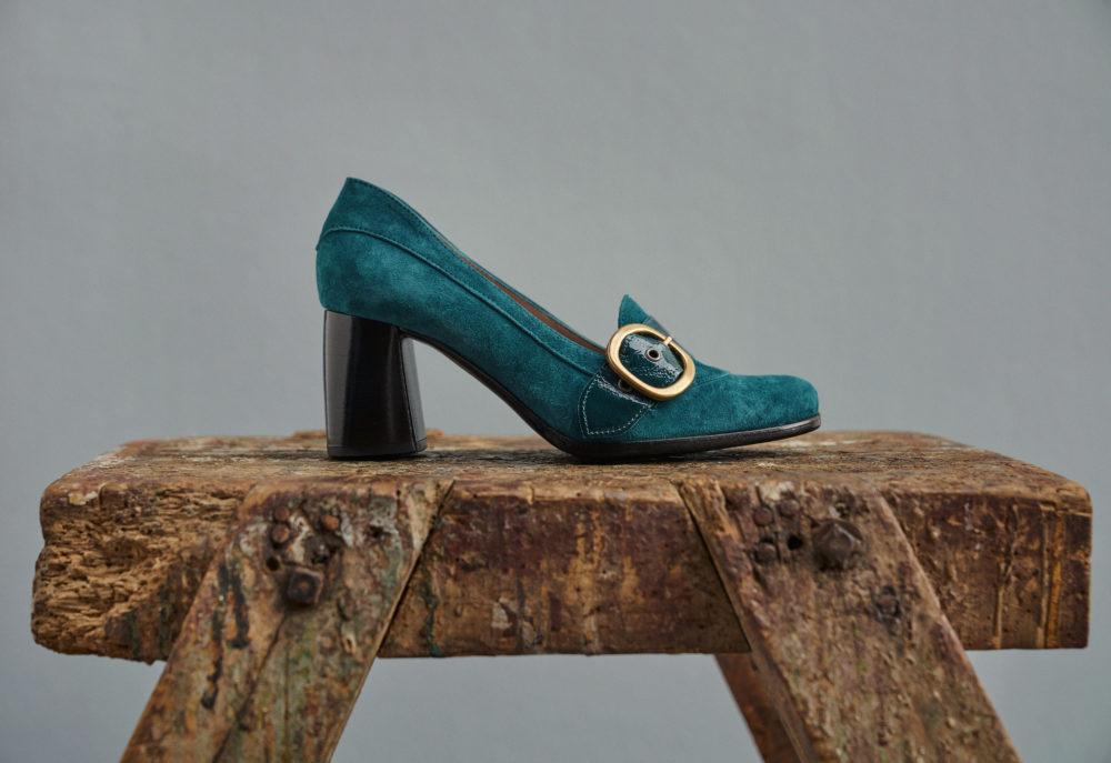 Dorotea zapato salón Juliette azul fw18