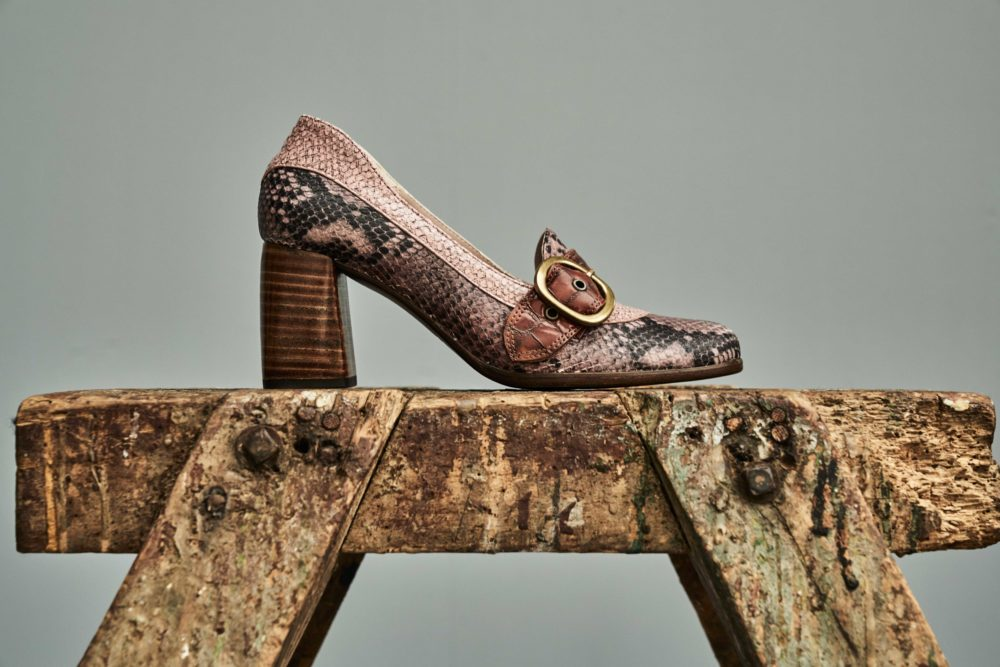 Dorotea zapato salón Juliette rosa fw18