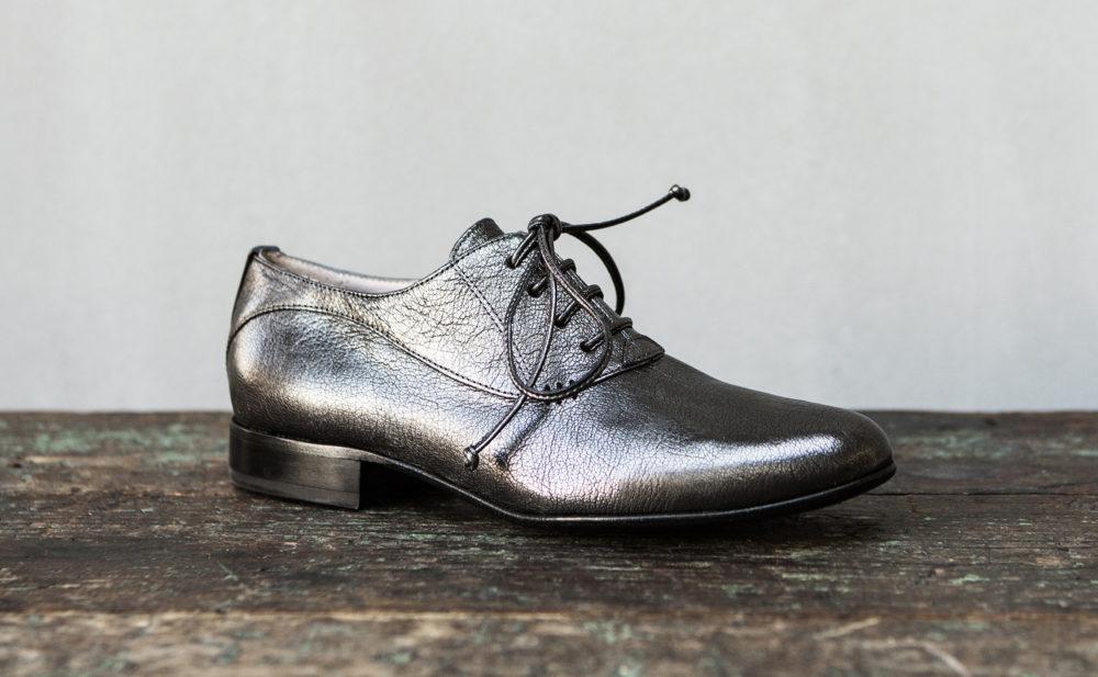 Dorotea zapato de cordones Florence antracite fw18