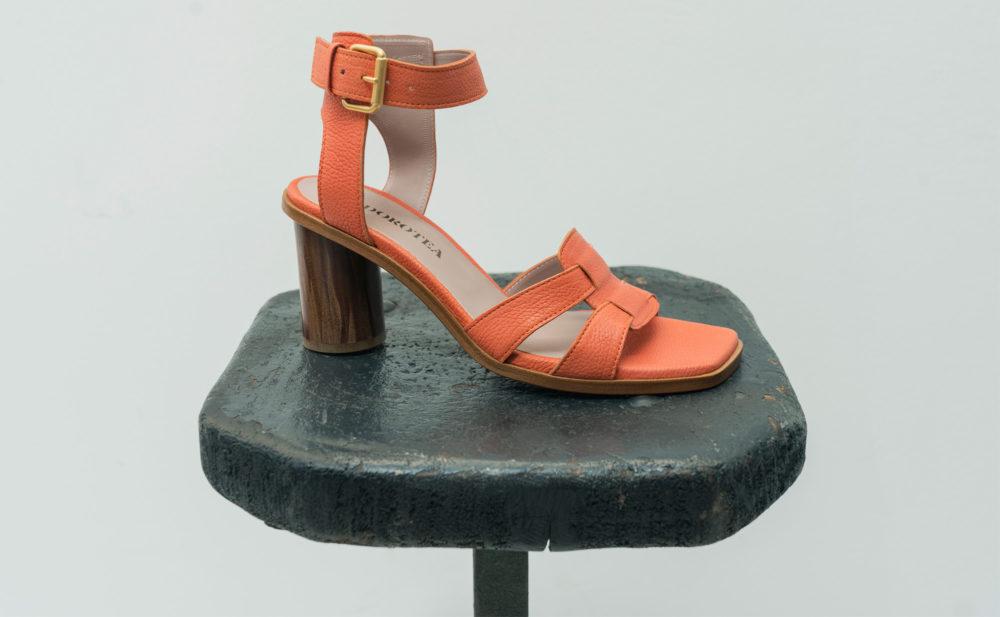 Dorotea sandalia de tacón alto Lianne citrus ss18