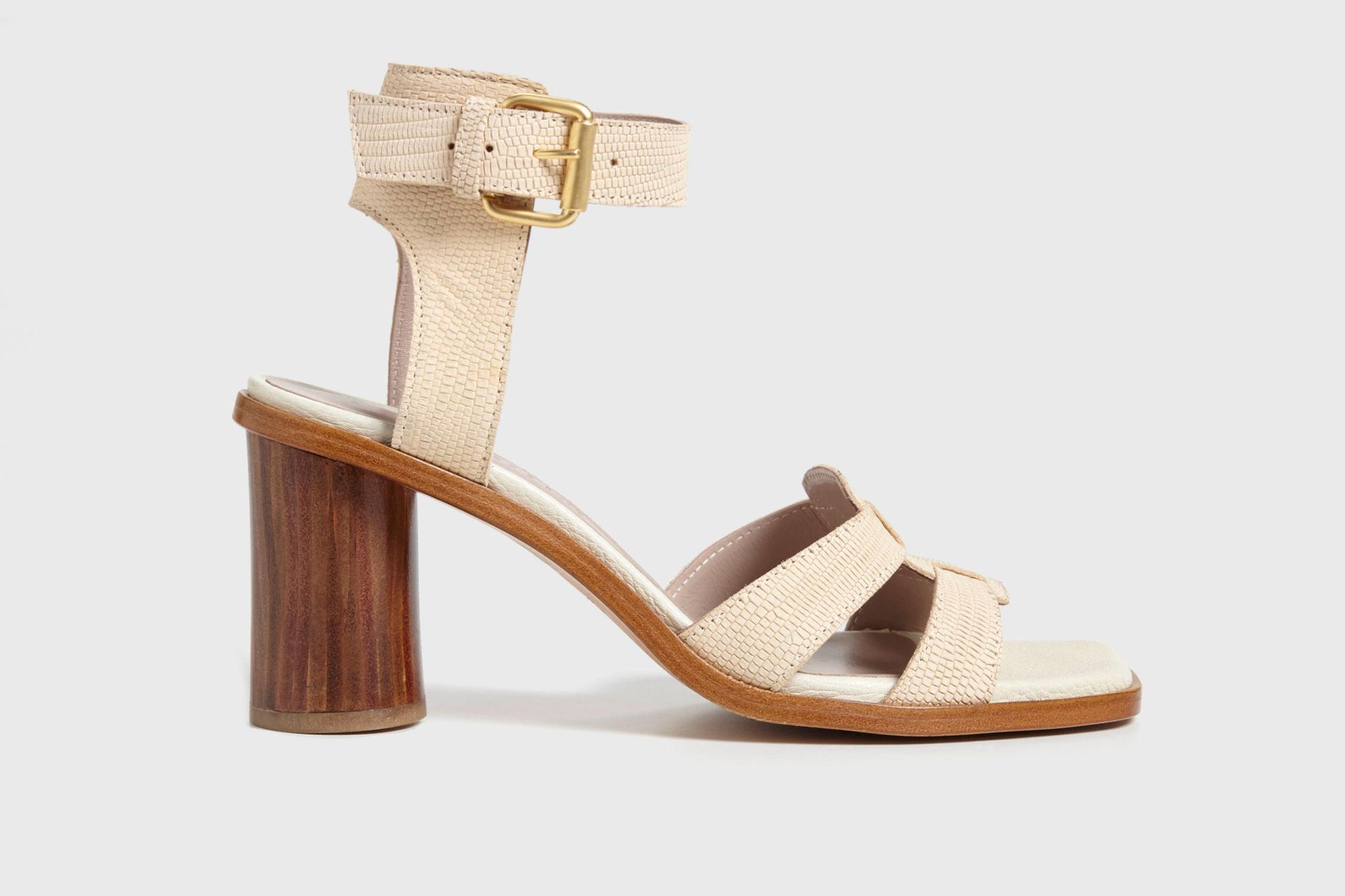 Dorotea sandalia de tacón alto Lianne nude ss17 perfil