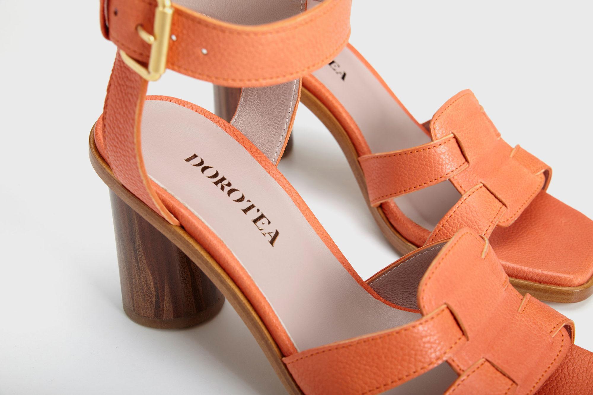 Dorotea sandalia de tacón alto citrus ss18 detalle