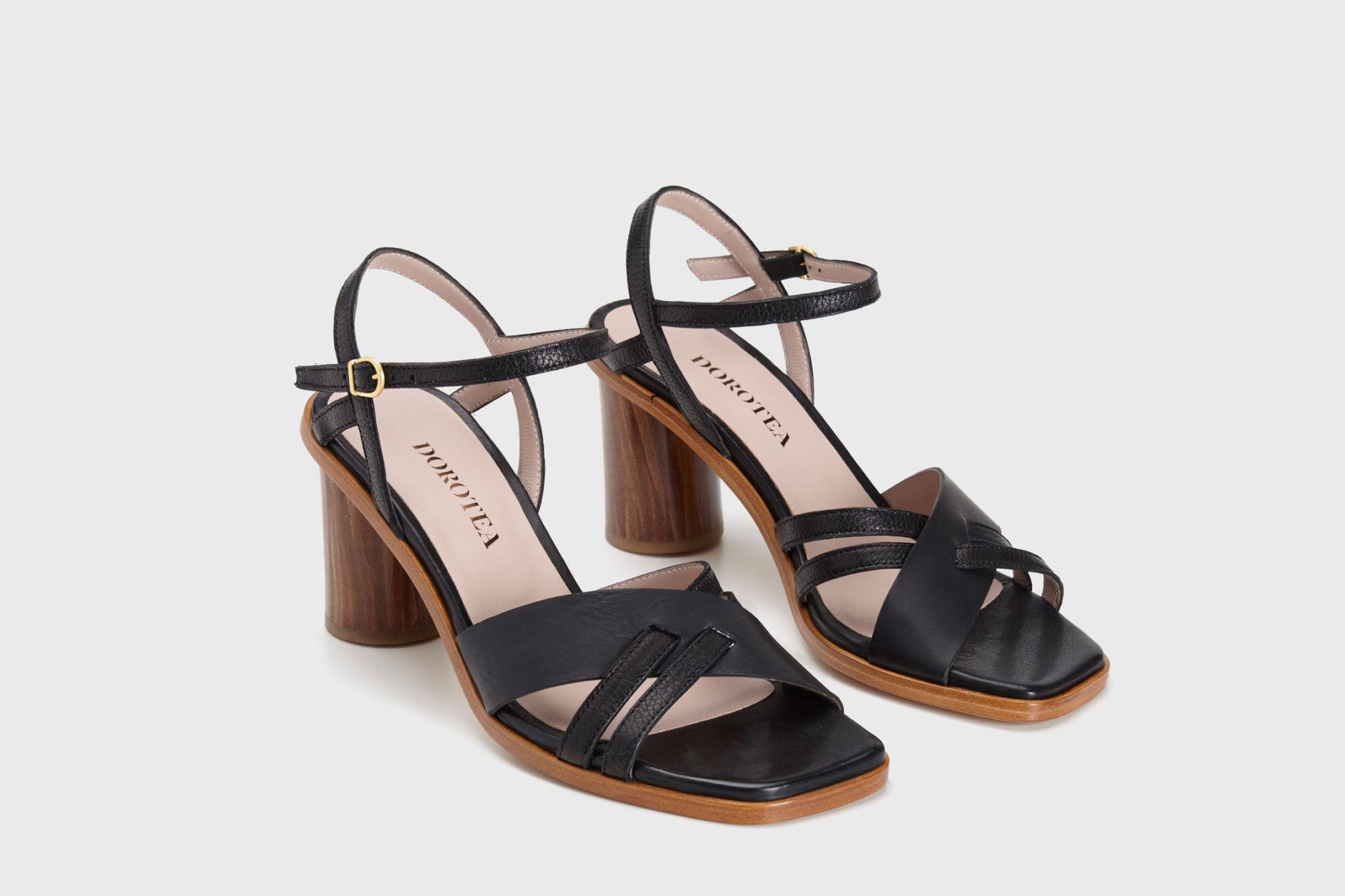 Dorotea sandalia de tacón alto Sophie ss17 par