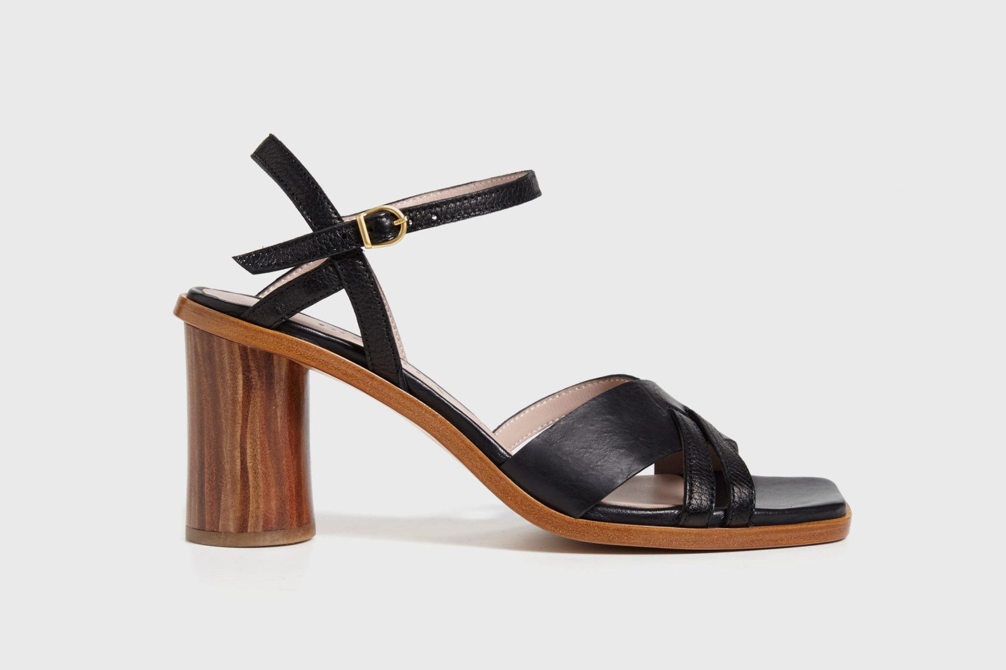 Dorotea sandalia de tacón alto Sophie ss17 perfil