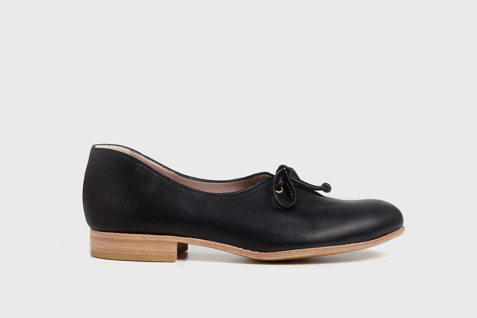 Dorotea zapato de cordones Carrie negro ss17 eprfil
