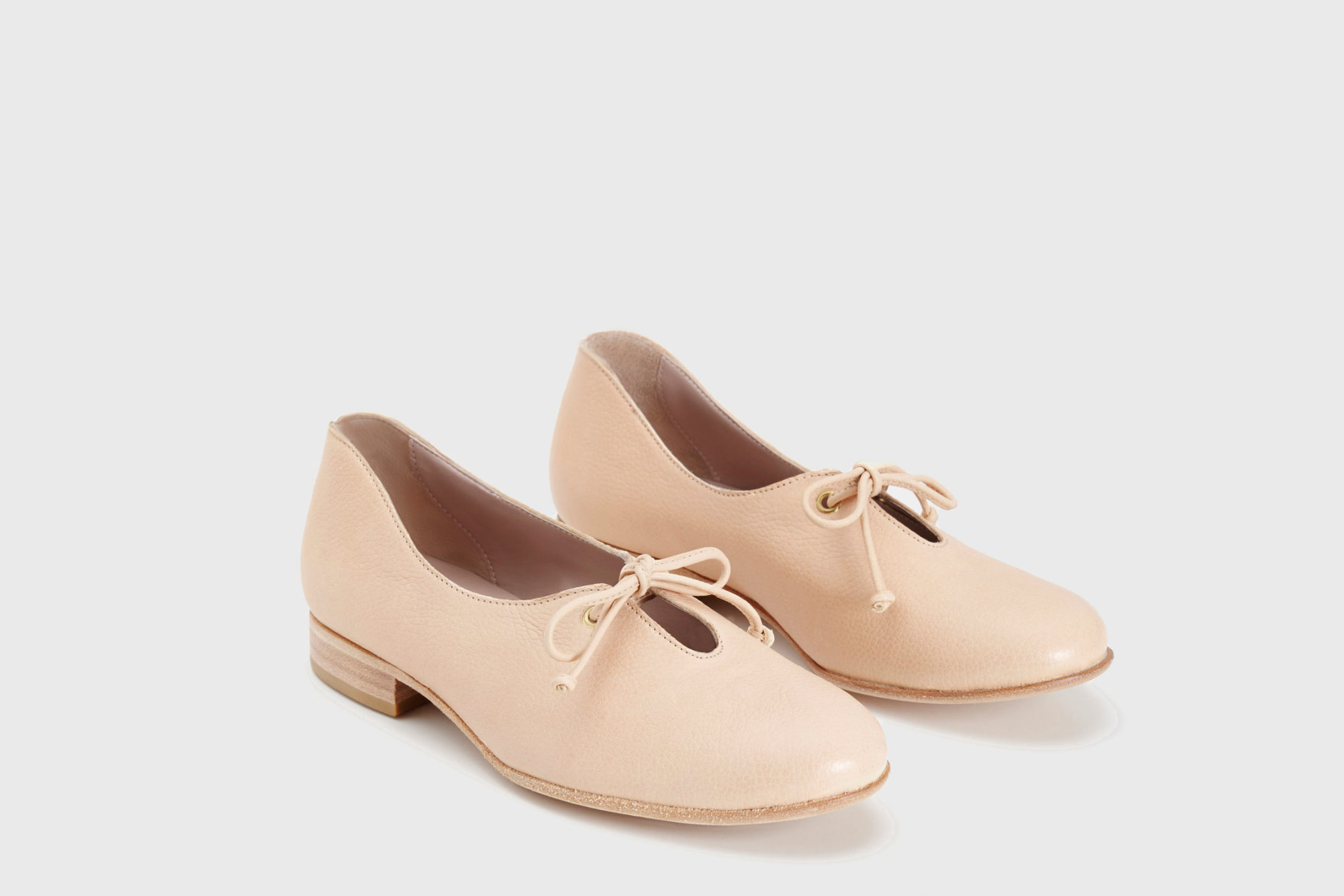 Dorotea zapato de cordones Carrie nude ss17 par