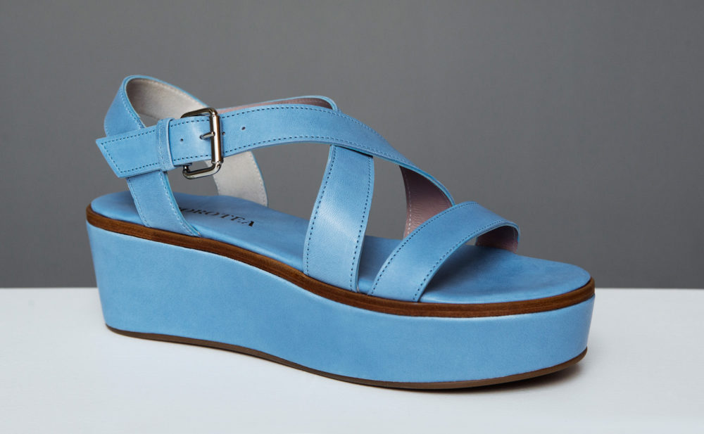 Dorotea plataforma Eleanor azul ss17