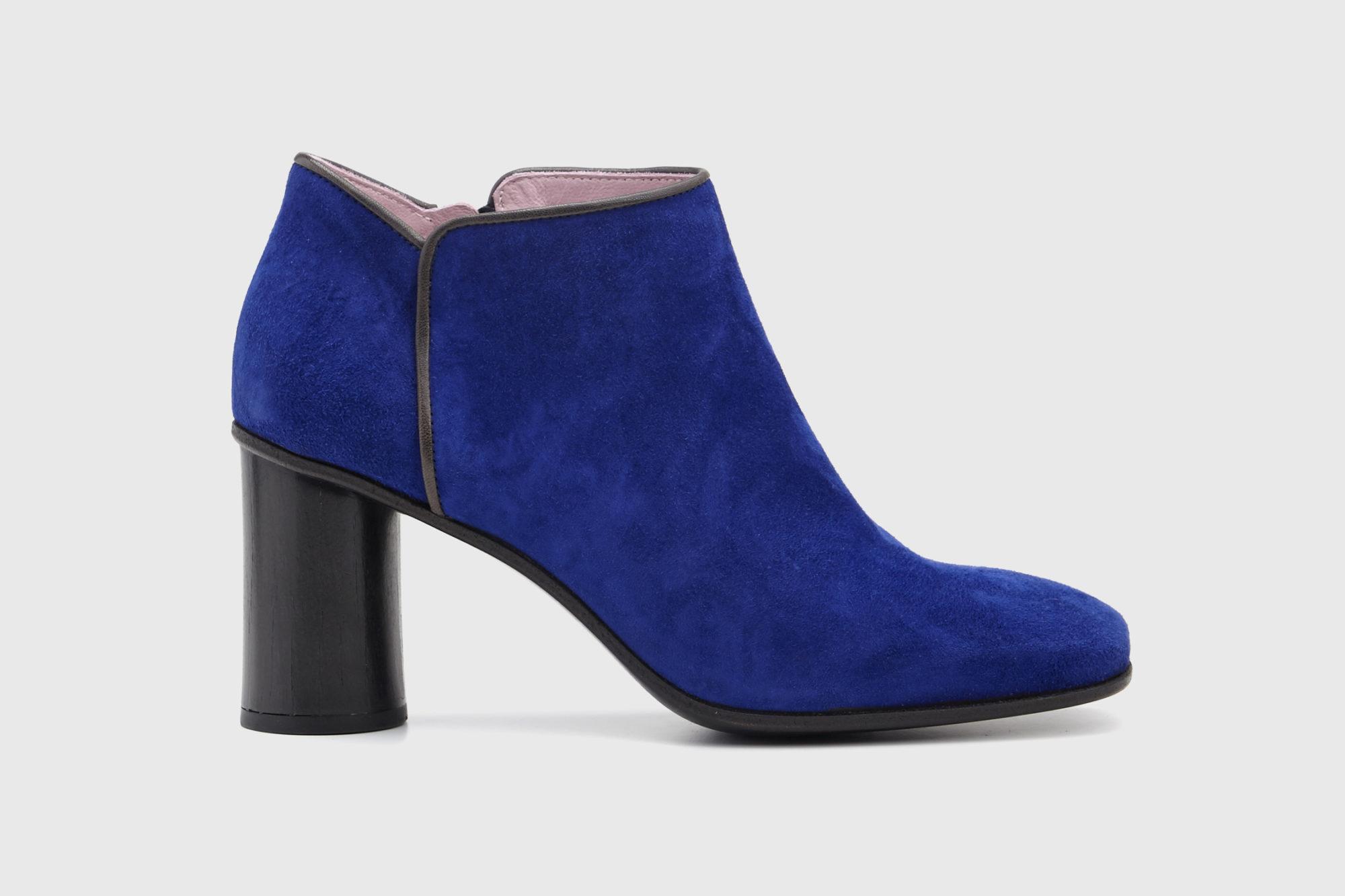 Dorotea zapato abotinado Zoe azul klein ss17 eprfil