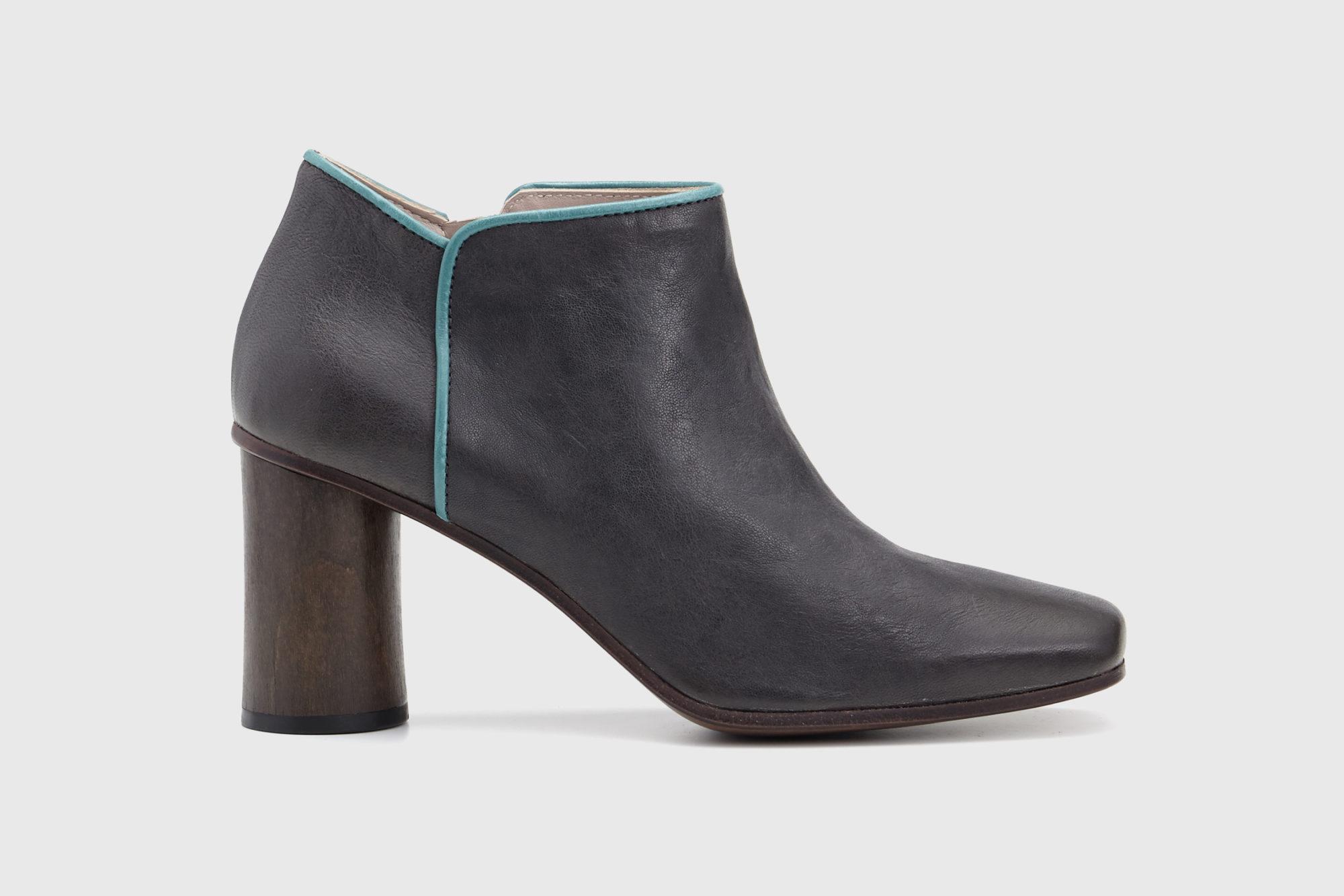 Dorotea zapato abotinado Zoe gris asfalto ss17 perfil