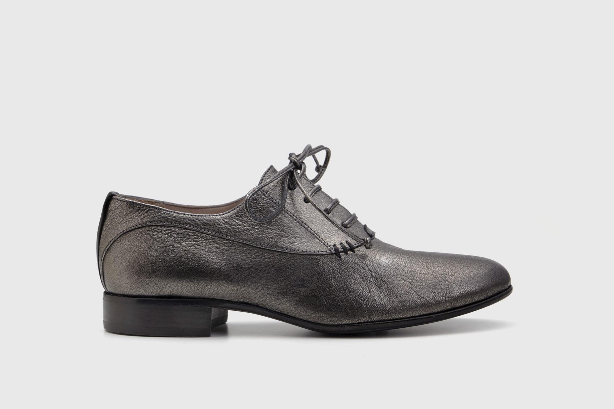 Dorotea zapato de cordones Florence antracite fw18 perfil