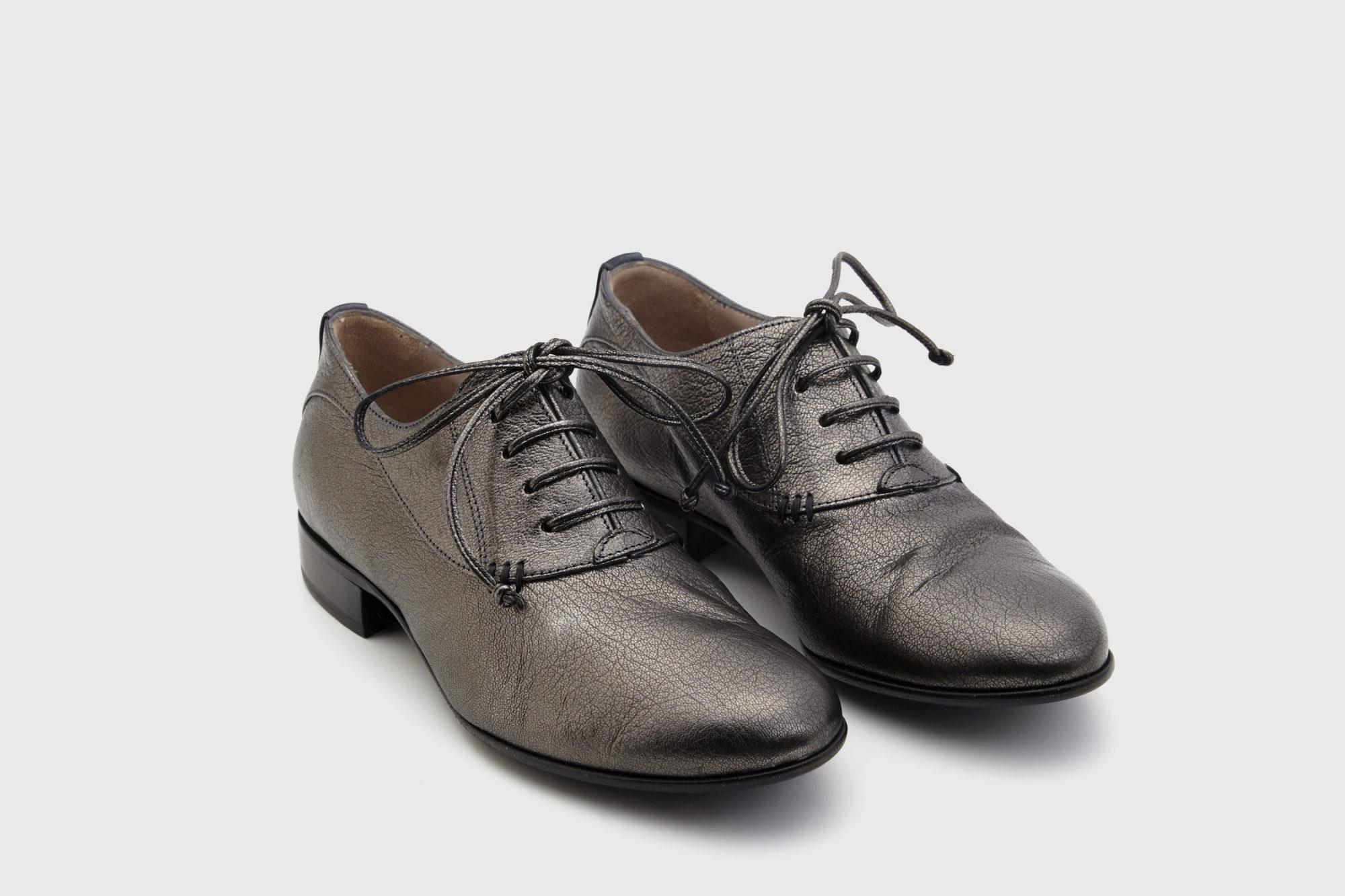 Dorotea zapato de cordones Florence antracite fw18 par
