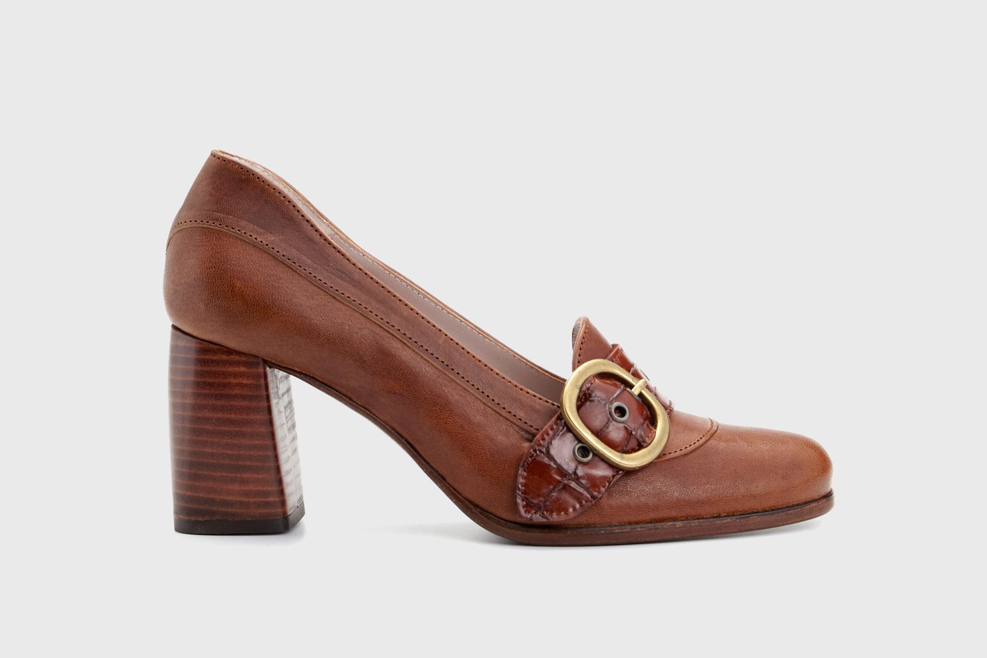 Dorotea zapato salón Juliette cuero fw18 perfil