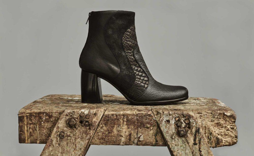 Dorotea botín de tacón alto Joy color negro fw18