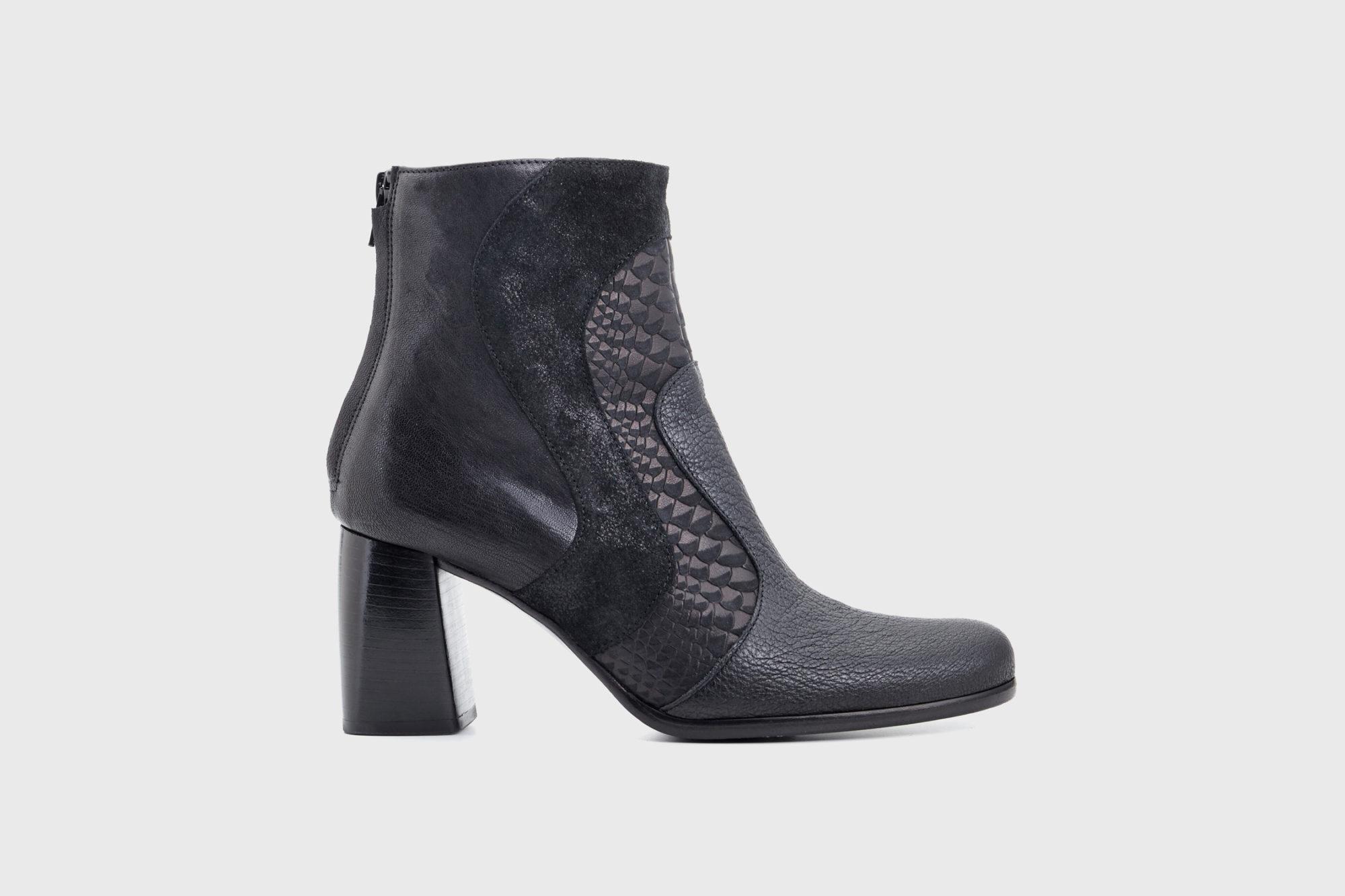 Dorotea botín de tacón alto Joy color negro fw17 perfil